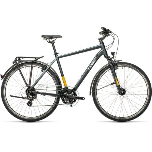 Cube TOURING grey´n´yellow 2021 kerékpár