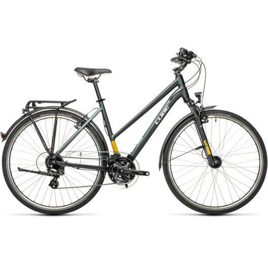 Cube TOURING grey´n´yellow 2021 easy entry kerékpár