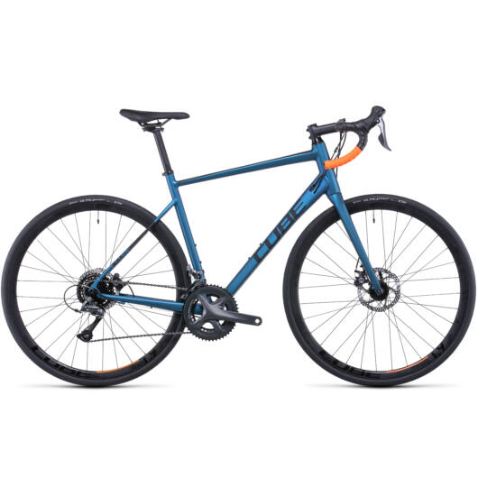 Cube Attain Atlanticblue'n'orange; 28; 2022 kerékpár