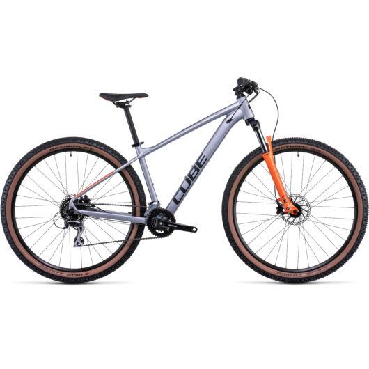 Cube Aim Race Silver'n'orange; 29; 2022 kerékpár