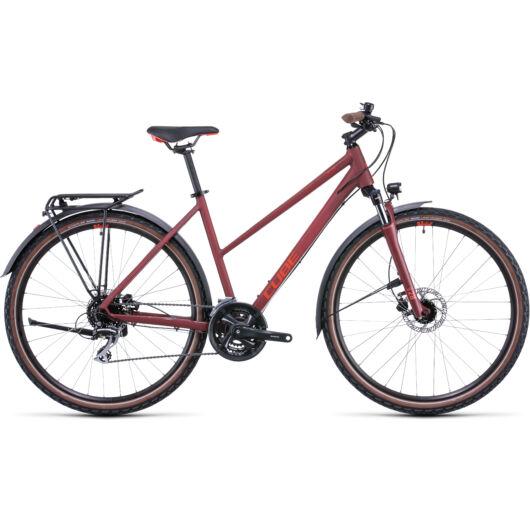 Cube Nature Allroad Darkred'n'red trapeze; 28; 2022 kerékpár