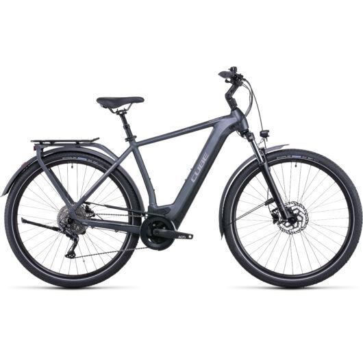 Cube Kathmandu Hybrid One 625 grey'n'teak; 2022 kerékpár