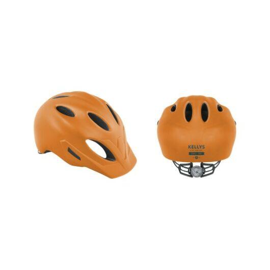Kellys Sleek fejvédő narancssárga M/L