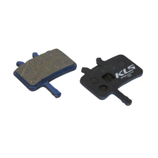 KLS D-02 kerékpár tárcsa fékbetét