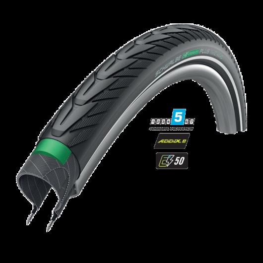 Schwalbe ENERGIZER PLUS E⚡50 performance 622-40 (28X1.50) defektvédelmes külső gumi