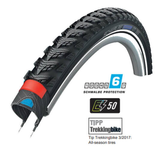 Schwalbe MARATHON GT 365 (28X1.50) 622-40  performance 4season defektvédelmes külső gumi