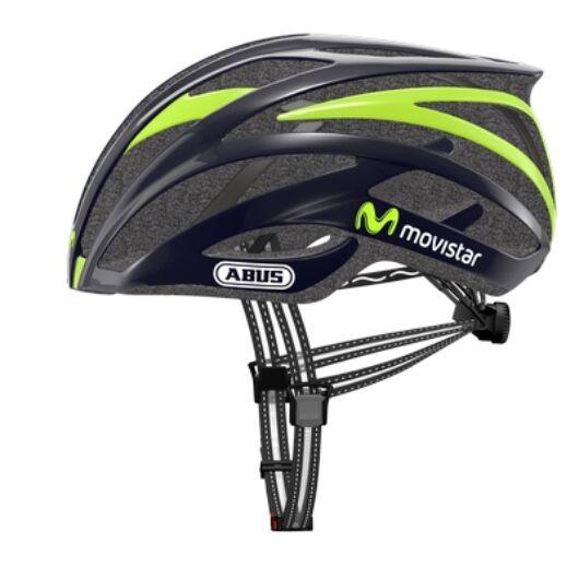 """ABUS kerékpáros sisak """"Tec-Tical 2.0 Movistar"""" verseny, M"""