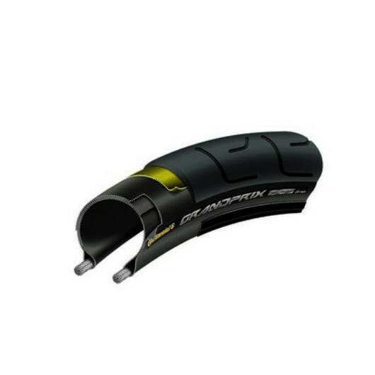 Continental  25-622 Grand Prix 700x25C fekete/fekete, Skin külsőgumi