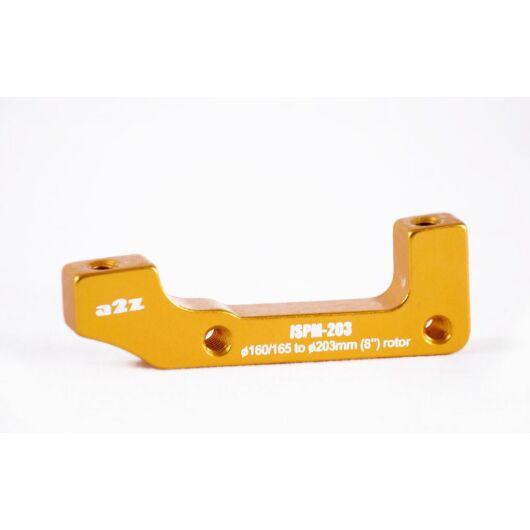 a2Z IS->PM (E203/H185) tárcsafék adapter [arany]