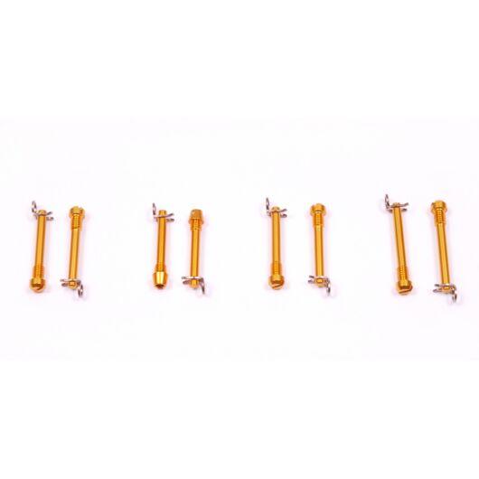a2Z Ultralight fékbetét rögzítő csavar [arany, Magura MT2-8]
