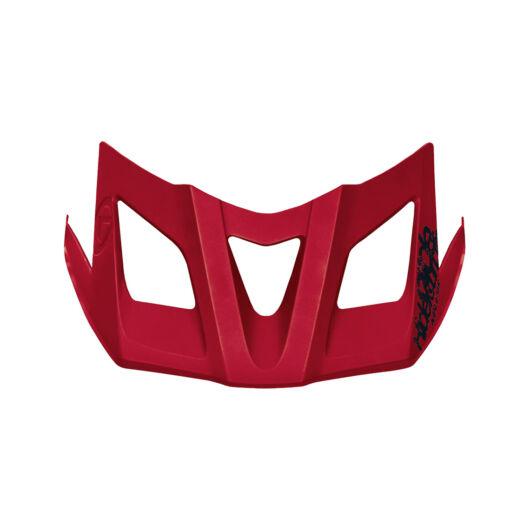 Spare visor for helmet RAZOR ruby red S/M