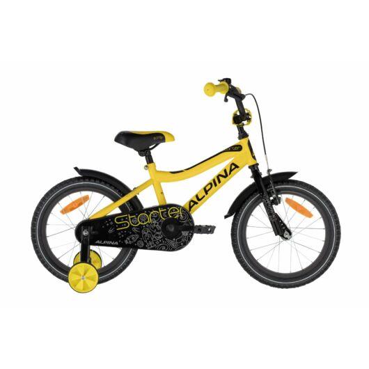"""Kellys ALPINA STARTER 16"""" kerékpár sárga"""
