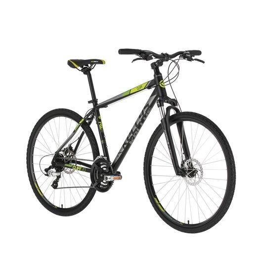 Kellys CLIFF 70 Black Green 2021 kerékpár