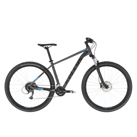 """KELLYS Spider 70 Black; 29""""; 2021 kerékpár"""