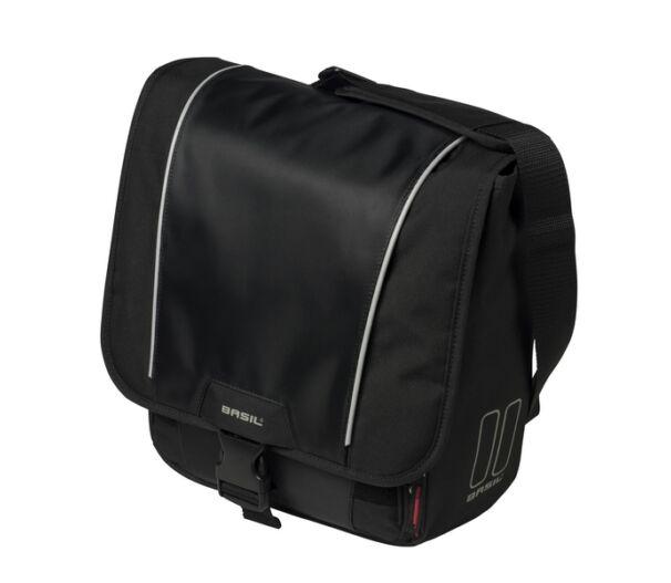 Basil oldaltáska Sport Design Commuter Bag, Hook ON fekete