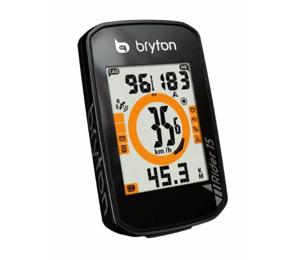 Bryton Rider 15 computer fekete