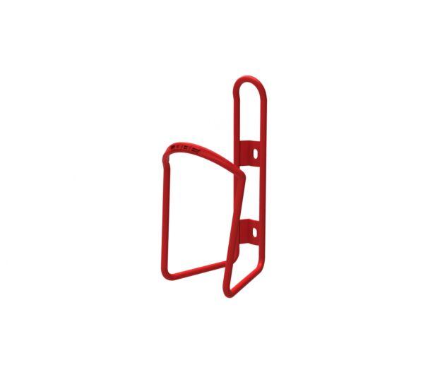 Cube HPA fényes piros alu kerékpáros kulacstartó