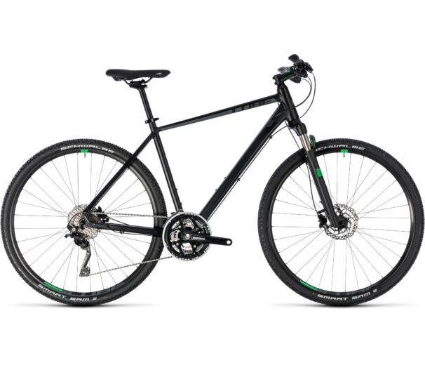Cube Cross black'n'green 2018 kerékpár