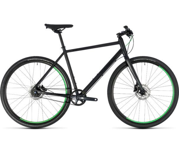 Cube Hyde RACE black'n'green 2018 kerékpár