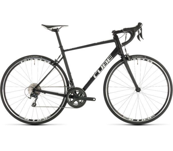 Cube ATTAIN RACE Black'n'white  2019 kerékpár