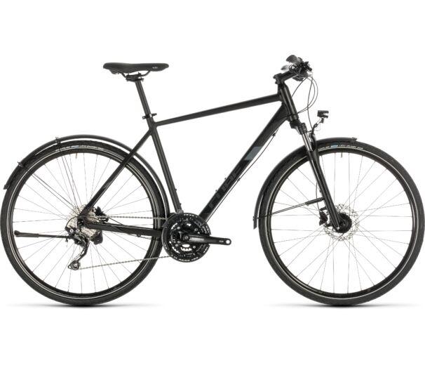 Cube NATURE EXC ALLROAD black´n´grey 2019 kerékpár