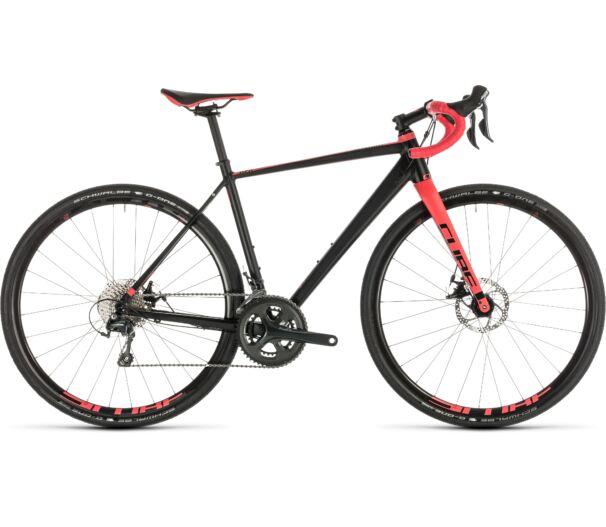 Cube NUROAD WS black´n´coral 2019 kerékpár