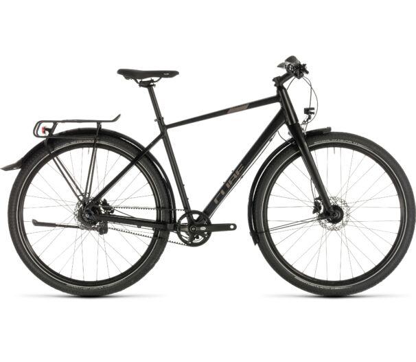 Cube TRAVEL PRO black´n´brown 2019 kerékpár