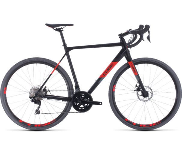 Cube CROSS RACE black´n´red 2020 kerékpár
