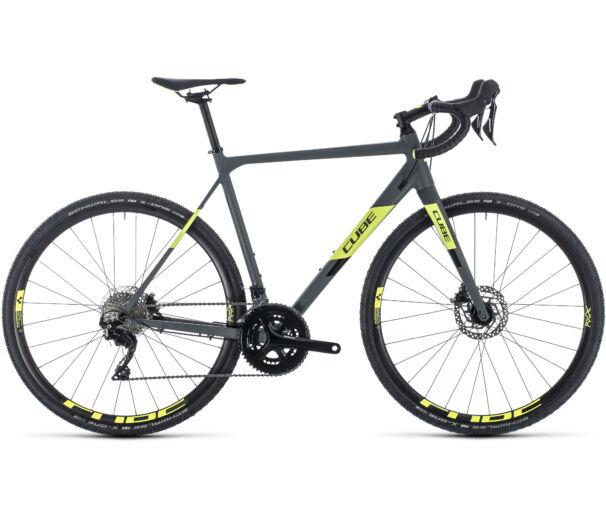 Cube CROSS RACE PRO grey´n´flashyellow 2020 kerékpár