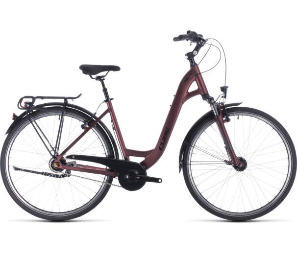 Cube TOWN PRO easy entry red´n´black 2020 kerékpár
