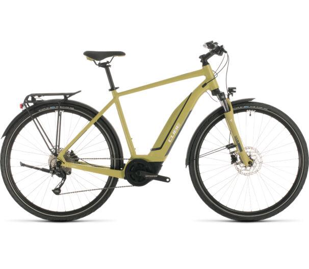 Cube TOURING HYBRID ONE 500 green´n´white 2020 kerékpár