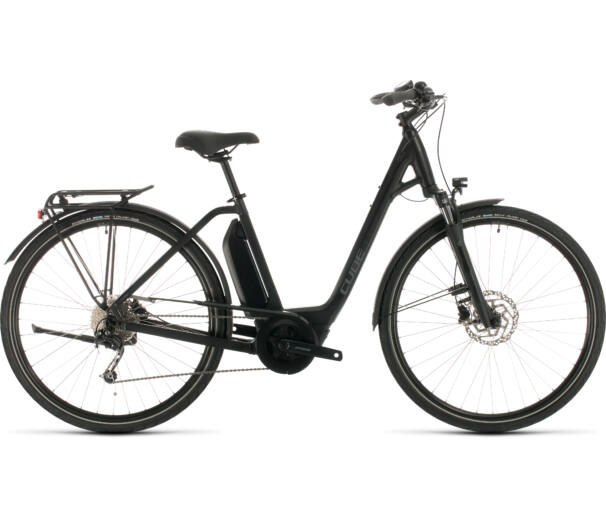 Cube TOWN SPORT HYBRID ONE 500 easy entry black'n'grey 2020 ebike