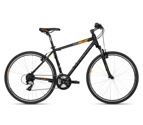 Kellys CLIFF 30 Black Orange kerékpár 2018
