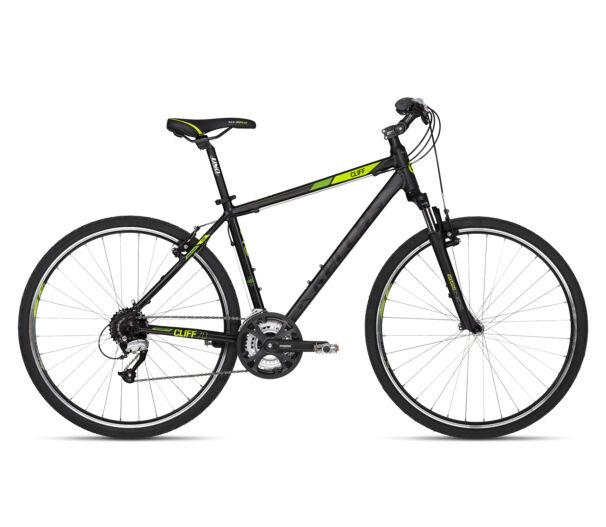 Kellys CLIFF 70 Black Green kerékpár 2018