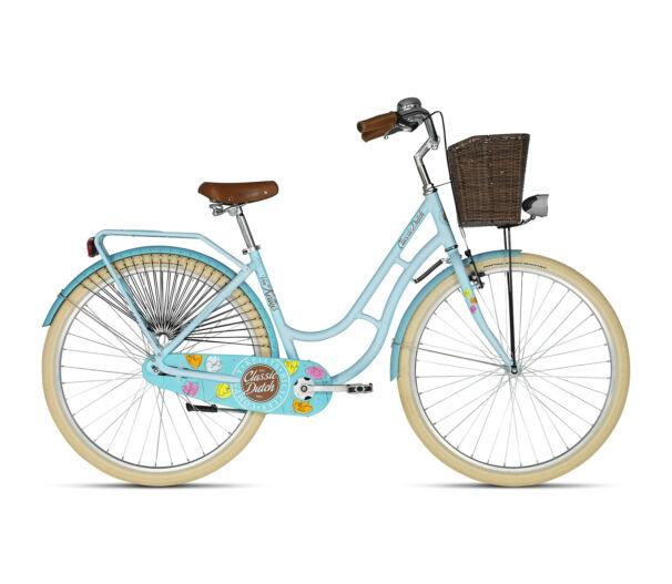 Kellys CLASSIC DUTCH Blue 2018 kerékpár