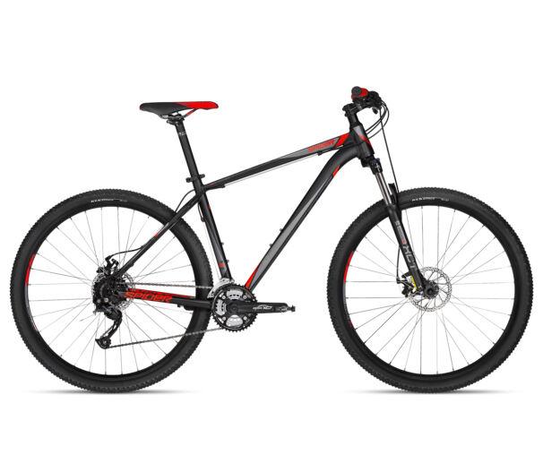 """Kellys SPIDER 10 BLACK 2018 29"""" kerékpár S"""