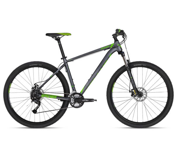 """Kellys SPIDER 10 GREEN 2018 29"""" kerékpár S"""