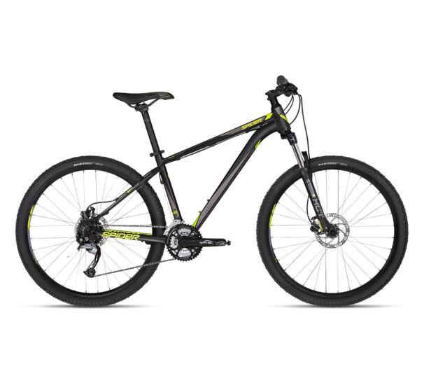"""Kellys SPIDER 30 BLACK 27.5"""" 2018 kerékpár XS"""