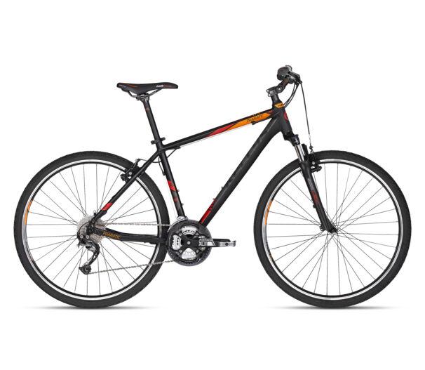 """Kellys PHANATIC 10 Black 2018 kerékpár 23"""""""
