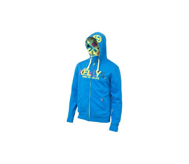 KLS Typo kék hoodie XXL