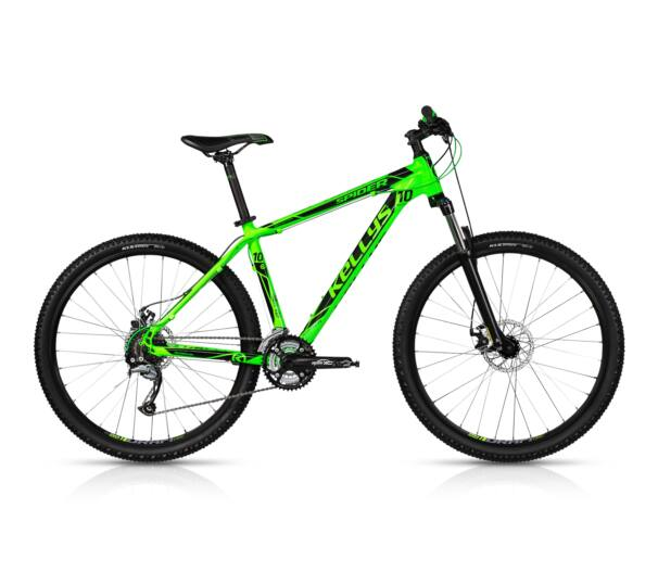 Kellys SPIDER 10 Green 2017 kerékpár