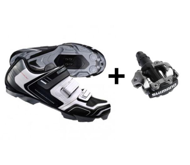 Shimano XC31 fehér kerékpáros cipő
