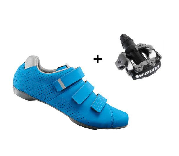 Shimano RT5 kerékpáros cipő kék