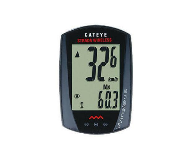 Cateye Strada Wireless vezeték nélküli kerékpáros kilométeróra