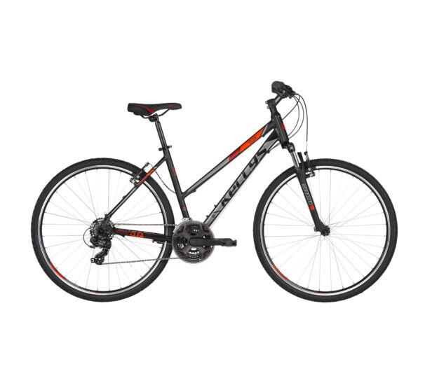 Kellys CLEA 10 kerékpár Black'n'Red 2019