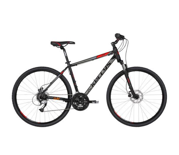 """Kellys CLIFF 90 M 2019 Black'n'Red kerékpár 19"""""""