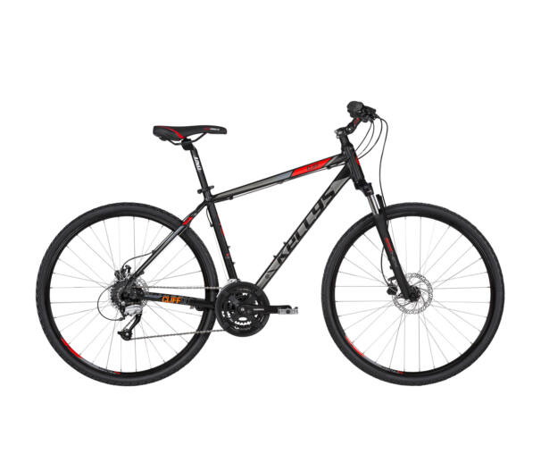 "Kellys CLIFF 90 L 2019 Black'n'Red kerékpár 21"""