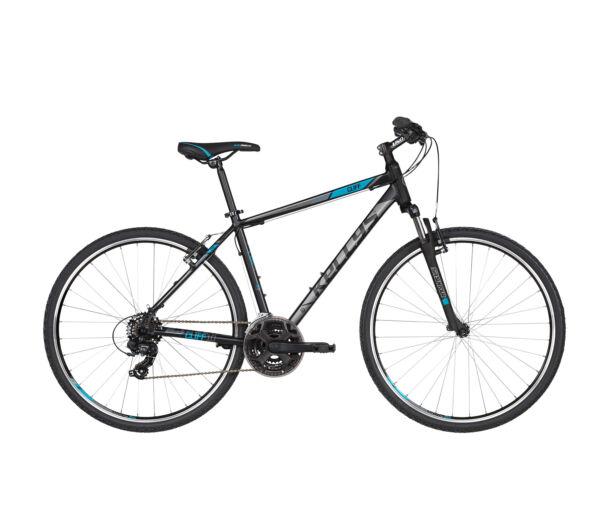 """Kellys CLIFF 10 2019 black'n'blue kerékpár 17"""""""