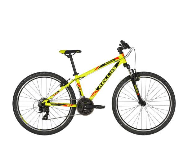 """Kellys NAGA 70 Neon Lime 2019 13.5"""" kerékpár"""