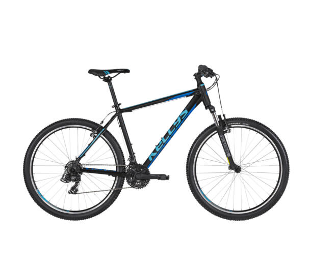 """Kellys MADMAN 10 2019 Black'n'Blue  27,5"""" kerékpár"""
